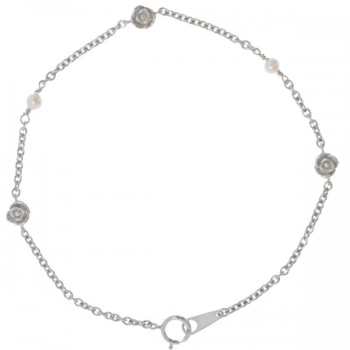 ROSES AND PEARLS-Armband