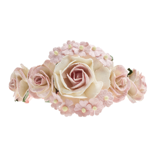 Blumenarmband rosa
